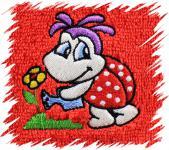 Dětský ručník s výšivkou - BERUŠKA