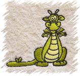 Dětský ručník s výšivkou - DRÁČEK