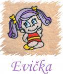 Dětský ručník s výšivkou  - HOLČIČKA a jméno