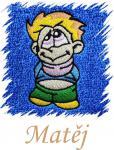 Dětský ručník s výšivkou - KLUK ROŠŤÁK a jméno
