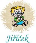 Dětská osuška s výšivkou - KLUK NEPOSEDA a jméno