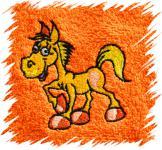Dětský ručník s výšivkou - KONÍK