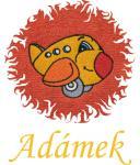 Dětská osuška s výšivkou - LETADLO a jméno