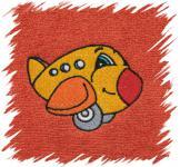 Dětský ručník s výšivkou - LETADLO