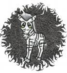 Dětská osuška pro děti s obrázkem - ZEBRA