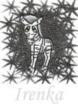 Ručník s výšivkou - ZEBRA a jméno