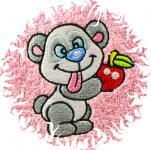 Dětská osuška pro děti s obrázkem - PANDA