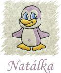 Dětský ručník s výšivkou - TUČŇÁK a jméno
