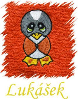 Dětský ručník s výšivkou - TUČŇÁČEK a jméno